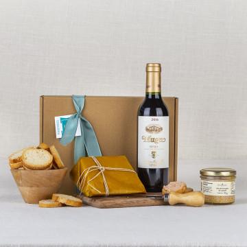Pack Aperitivo 6 con Vino Rioja tinto Muga