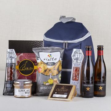 Pack mochila nevera con cerveza Inedit